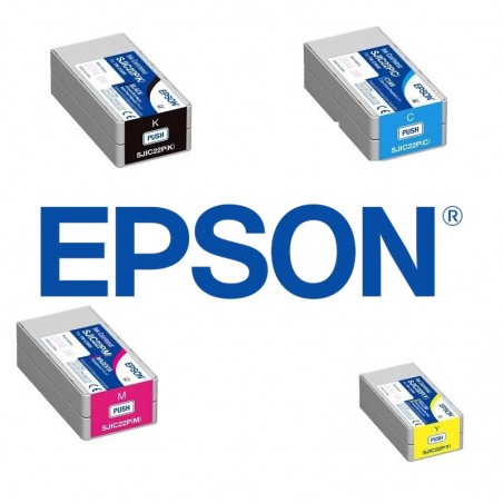 pack cartouches epson C3500