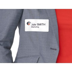 badge adhésif textile