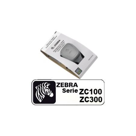 Ruban noir Zebra gamme ZC