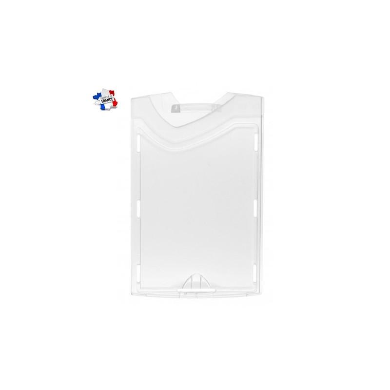 porte badge rigide vertical
