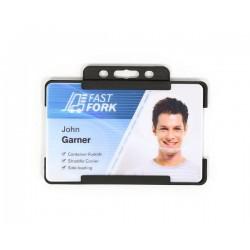 exemple de porte badge en plastique recyclé