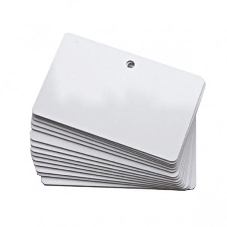 cartes plastiques perforées