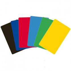 Cartes couleur CR80 0,76mm...