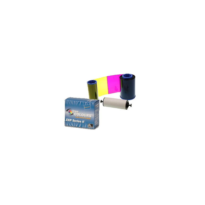 ZEBRA RUBAN ZXP8