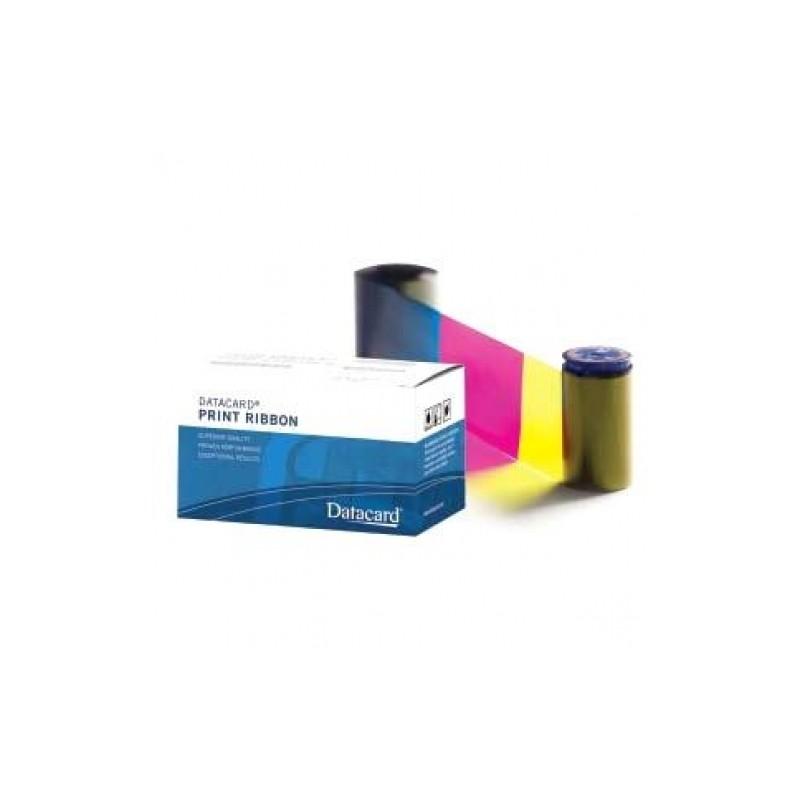 ruban couleur datacard