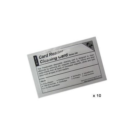 carte nettoyage datacard