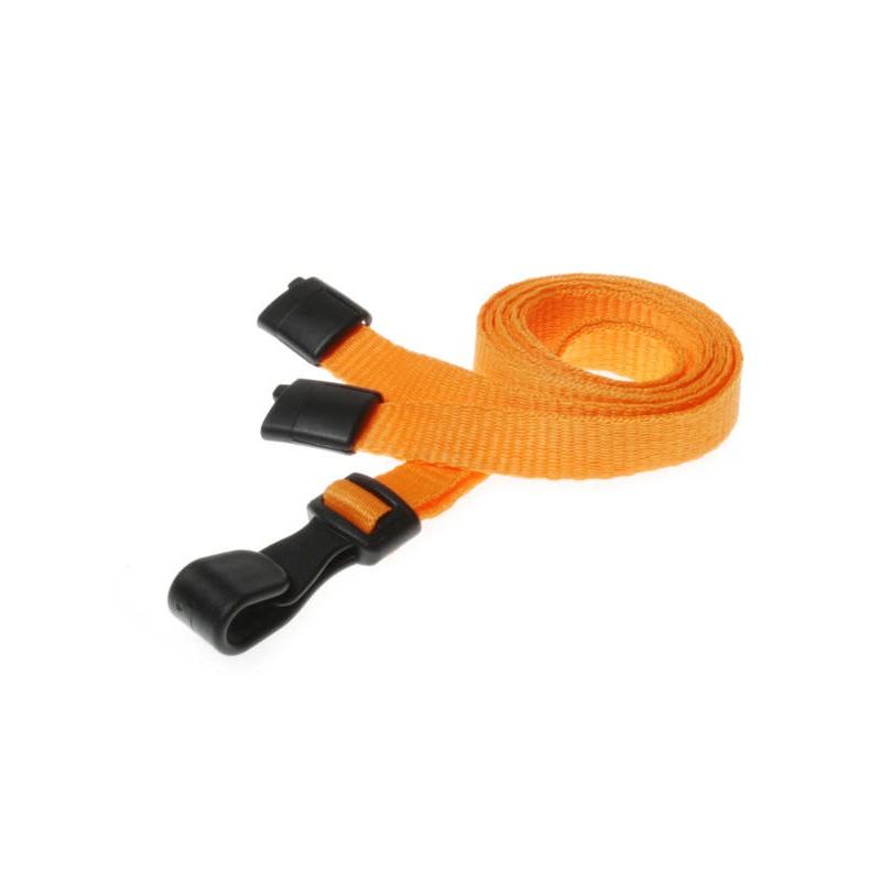 cordons unis otrange pince plastique