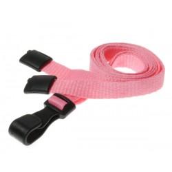 cordons unis rose pince plastique