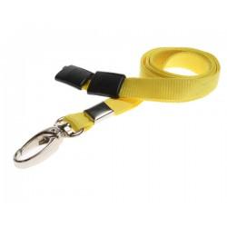cordons unis jaune