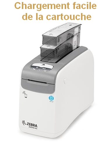 chargement cartouche zebra ZD510