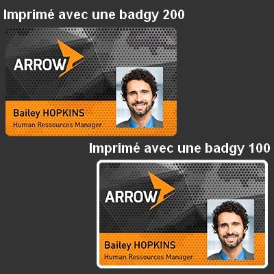 comparatif badgy 100 et 200